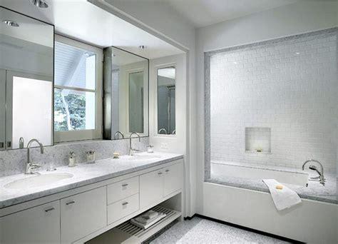 flawless  white bathroom designs