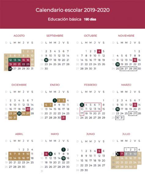 calendario escolar sep imagen unon
