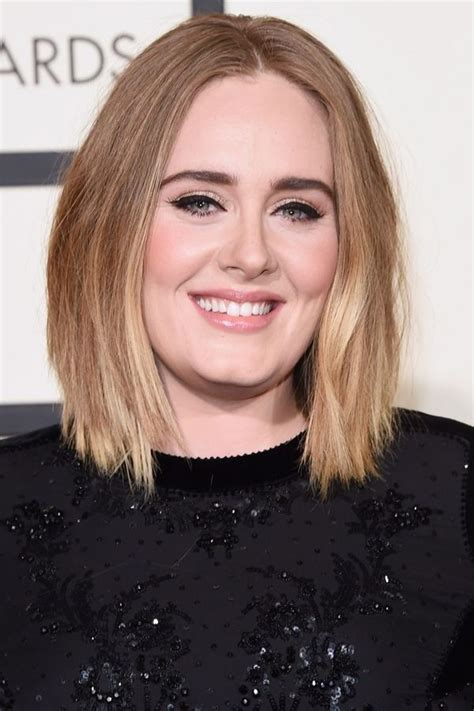 short hairstyles  fat faces double chins