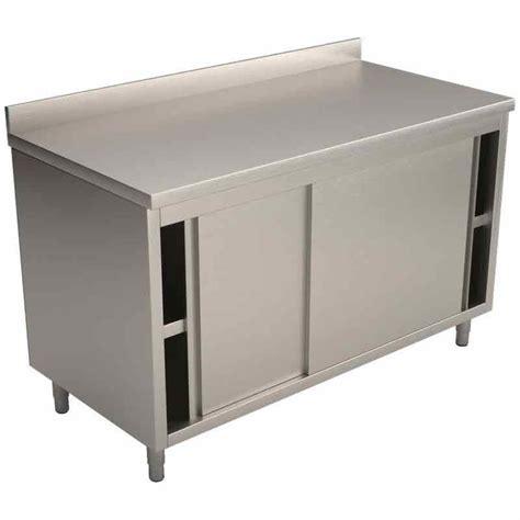 meuble cuisine inox professionnel meubles bas de cuisine comparez les prix pour