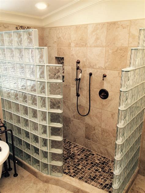 master bathroom remodeling ideas my customer s top 5 fears of a glass block walk in shower