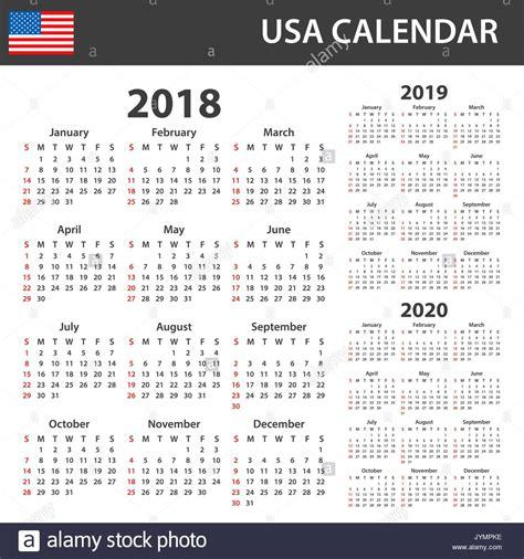 calendar week sunday stock calendar week