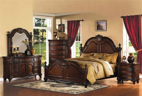 Acme Furniture-remington Brown Piece Queen Bedroom Set