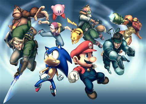 Gamepro Cover Smash Bros By Udoncrew On Deviantart