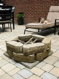 cheap patio stones Our $319 Patio Makeover (Complete With Loungers & A Fire Pit!) | Young House Love