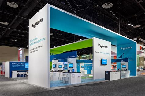 traliccio americano nuance at himss exhibition exhibiotionstand design display