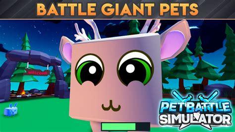 years pet battle simulator roblox