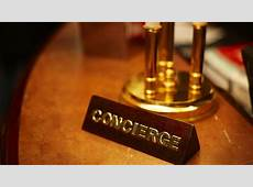 Travel Tip #19 Treat your hotel concierge as the ultimate