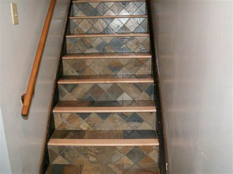 Tile Stair Nosing Wood by Tile Stairs With Wood Bullnose Kitchen Design
