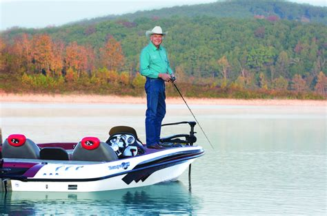 Ranger Bass Boat Tours by A Career Of Fishing Ranger Boats In Flippin Arkansas