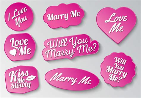 marry vector sign typography graphics