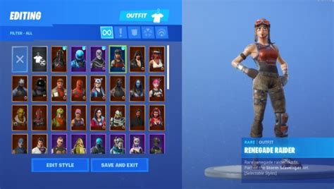 renegade raider fortnite account  sale  broadford
