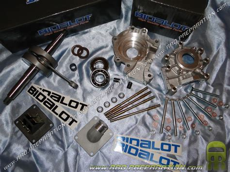 pot bidalot mbk 51 complete motor casings with crankshaft admission bidalot racing equipped g1 g2 for mbk 51