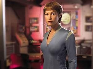 T'Pol (Jolene Blalock) from Star Trek's Sexiest Aliens | E ...
