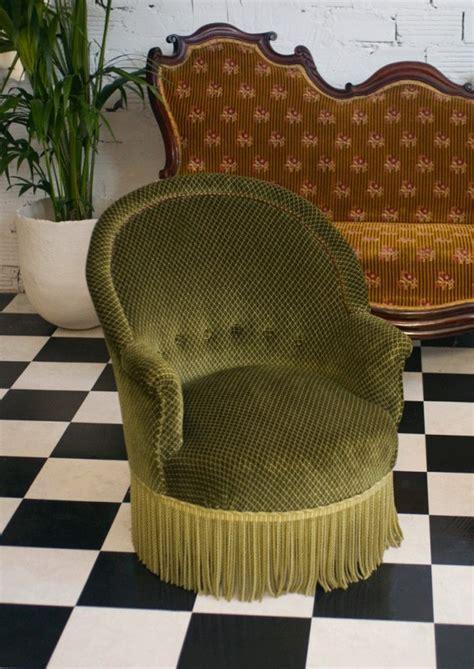 fauteuils crapaud ancien r 233 tro vinatge style luois