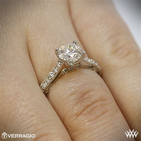 Verragio Beadset Cathedral Diamond Engagement Ring  1863. Embossed Wedding Rings. Triple Wedding Rings. Wedding Cambodian Wedding Rings. Modeled Wedding Rings. April Birthstone Wedding Rings. Two Wedding Rings. File Rings. Price Tag Wedding Rings