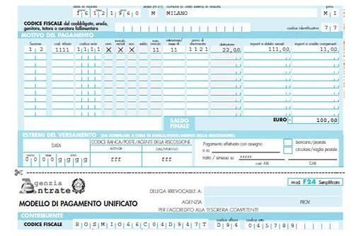 F24 Semplificato Compilabile Download Sauranfali