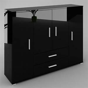 Kommode Schwarz Hochglanz : kommode sideboard anrichte schrank diana in schwarz hochglanz oder matt ebay ~ Indierocktalk.com Haus und Dekorationen