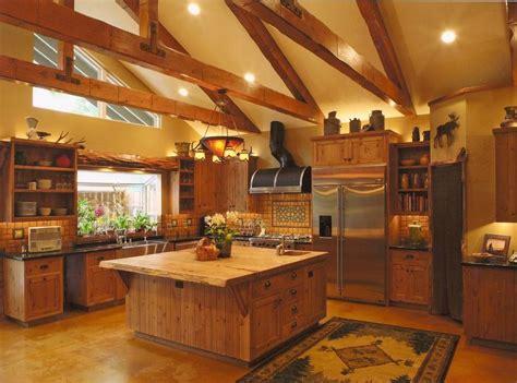 log cabin kitchen designs lovely ceiling light hanging on sloped plafond large 7150