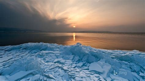 germany ice floes lake constance  bing preview