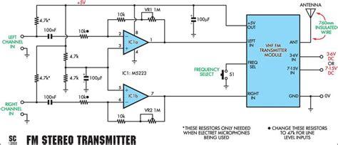 Wireless Mic Amplifier Circuit Digram Diagram Images