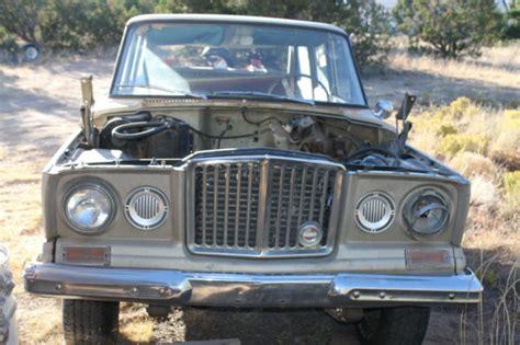 jeep kaiser wagoneer 1965 jeep kaiser wagoneer rhino grille partsmobile