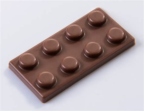 lego thin chocolate mould