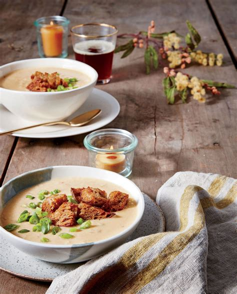 grits cheesy soup ale recipe recipes pumpernickel croutons food southern garlicky styling southernliving living causey stelling ginny prop branch jennifer