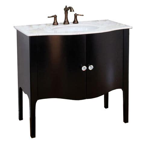 vanity with top and sink shop bellaterra home black undermount single sink bathroom