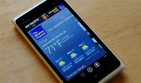 nokia re launches weather channel app for lumia windows phones windows central
