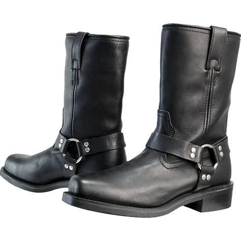 moto style boots weise cowboy waterproof cruiser style touring motorbike