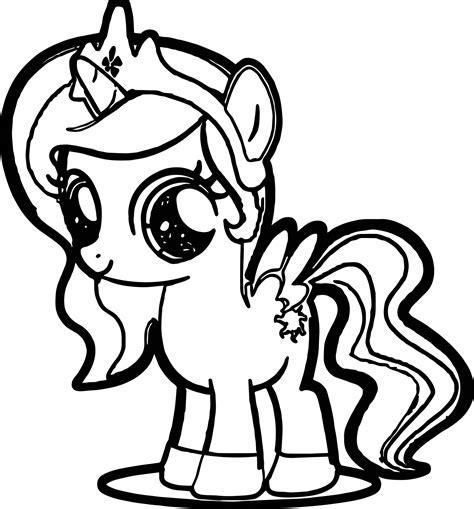 cute pony coloring page wecoloringpagecom