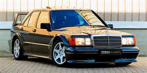 For the evo ii, mercedes refined the developments of the evo i. 1990 Mercedes-Benz 190E 2.5-16 Evolution II Auction | HYPEBEAST