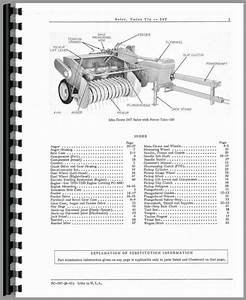 John Deere 24t Baler Parts Manual
