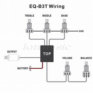 Belcat Rohs Active Eq For Bass Guitar Active Eq Preamp Circuit