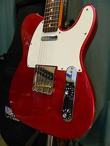 Fender Muddy Waters Telecaster 2004 Candy Apple Red
