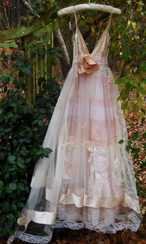 Vintage Opulence by Blush Wedding Dress Vintage Tulle Satin Beading Ethereal