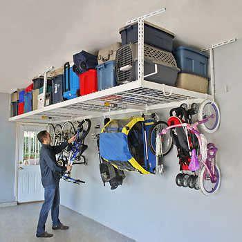 Saferacks Overhead Garage Storage Combo Kit Two