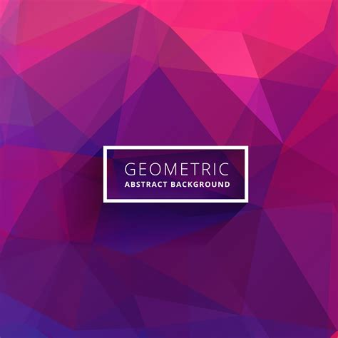 Abstract Pattern Background Pink Colors Vector Stock Purple Pink Abstract Triangle Background Free