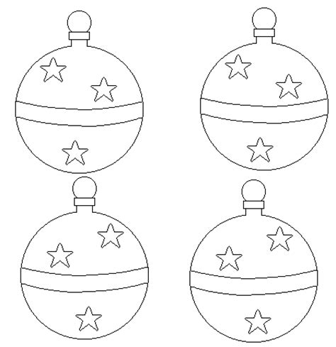 28 best christmas ornaments to color and cut out