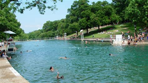 Barton Springs Pool  Parks And Recreation Austintexas