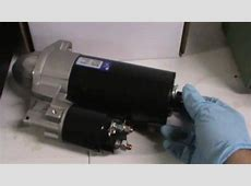BMW Starter Motor Replacement YouTube