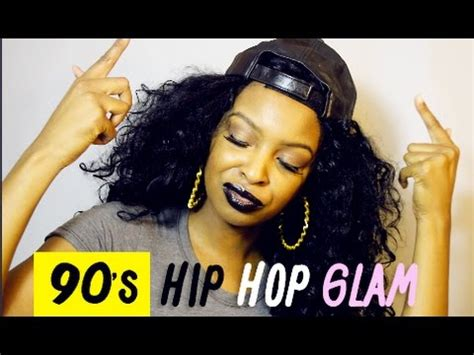 90s Hip Hop Hairstyles by 90s Hip Hop Glam