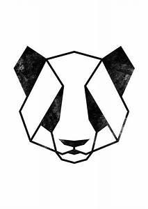 Pin by HighTown on Drawings | Panda art, Geometric drawing ...