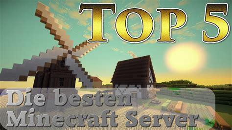 top  die besten minecraft server youtube