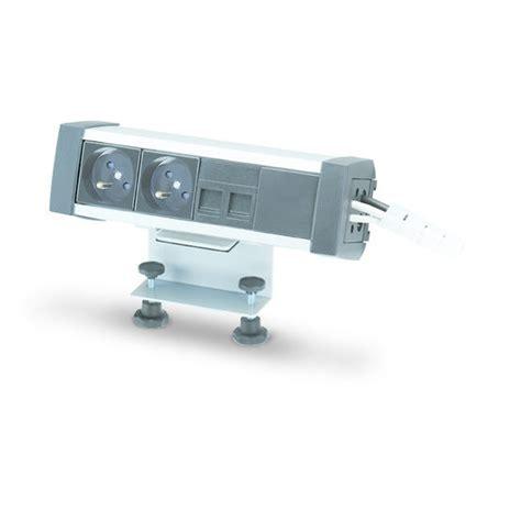 boitier bureau boîtier de prises en aluminium pour bureau ofiblock plus