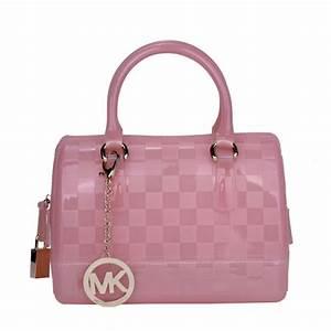 Michael Kors Grayson Logo Large Pink Satchel