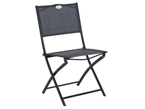 chaise pliante de jardin tabarca vente de chaise conforama