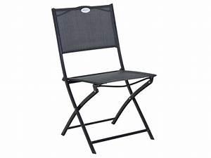 Salon De Jardin Pliant : chaise pliante de jardin tabarca vente de chaise conforama ~ Dailycaller-alerts.com Idées de Décoration