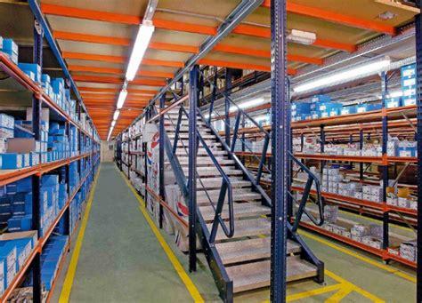 steel industrial mezzanine floors pallet racking rack supported mezzanine floors